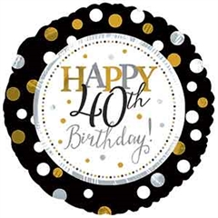 CTI 117803 Happy Birthday 40 lat -P