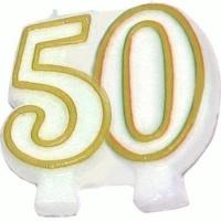 Świeczka Jubileuszowa 50