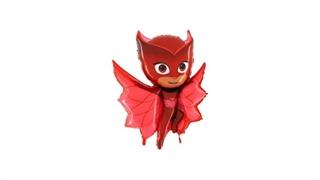 Balon Grabo 36   PJ Maska Czaerwona Owlette