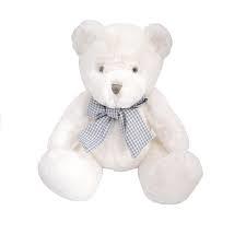 13277 Miś BERDI 25 cm biały