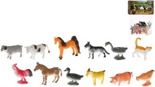Zwierzęta-12szt 50518 HER