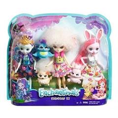 BRB Barbie Enchantimals 3-pak lalek FMG18