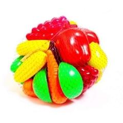 Zestaw owoców i warzyw 24 sztuki art. 518