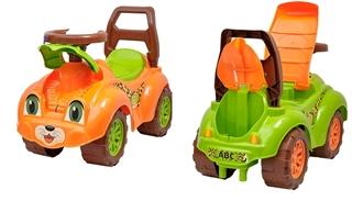 Jeździk TechnoK (pomarańczowy) 3268