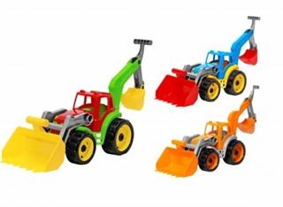 Pojazd Traktor z elem. spych. i kop. TechnoK 3671