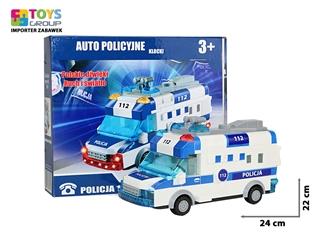 KLOCKI AUTO POLICYJNE J.POL. NA BATERIE TG405446