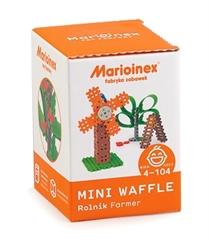 -Klocki Waffle mini-rolnik mały