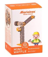 -Klocki Waffle mini-budowniczy średni