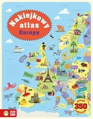 Naklejkowy album. Naklejkowy atlas Europy