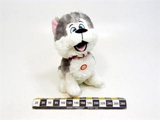 Pies Husky z głosem 24cm P3042 SD