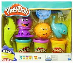 PROM Play-Doh B1378 Zwierzątka Morskie HASBRO