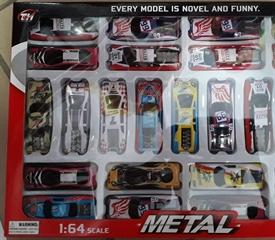 Kolekcja metalowych aut 25 szt. TH683