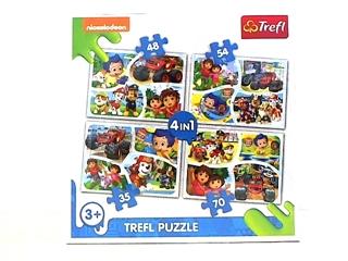 Puzzle   4w1   - Wspólna zabawa / Viacom Nick Jr Multi-Property