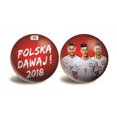 PROM 60848 -   TOWAR   - Piłka PZPN Piłkarze-23cm / PZPN PZPN_