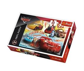 S.CENA Puzzle -   30   - Zwycięska drużyna/Disney Cars 3