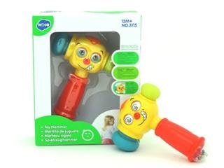 Zabawka młotek ZR3115 PIER