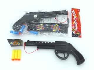 Pistolet pukawka+naboje pianka KP2016-3B PIER