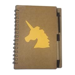 Notes z długopisem KW