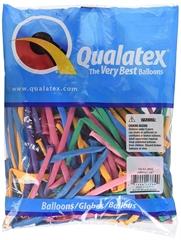 Balon QL modelina 260, pastel mix jaskrawy / 100 szt.GoD