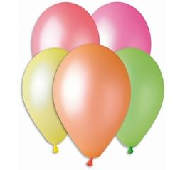 Balony Premium fluorescencyjne, 12   / 5 szt.GoD