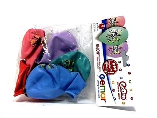 Balony Premium Hel   Happy Birthday  , 13  / 5 szt.