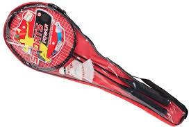 Metalowe rakietki do badmintona,pokrowiec+lotki MAL