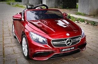 *Mercedes na akum. HL-169 S63 AMG czerwony lakier DAR