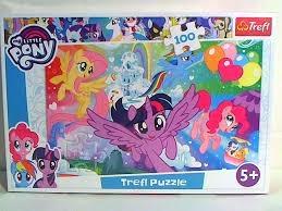 S.CENA Puzzle -   100   - Tęczowa kraina /Hasbro, My Littel Pony