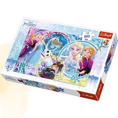 S.CENA Puzzle -   100   - Kraina przyjaźni/Disney Frozen