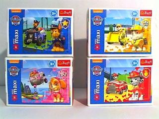 S.CENA Puzzle -   20 miniMaxi   - Pojazdy ratunkowe / Viacom PAW Patrol