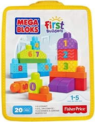 PROM MEGA BLOKS First Builders Liczymy 1-2-3 DLH85 /4