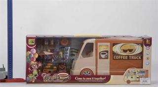 Auto kawiarnia, akcesoria, światło, dźwięk, 3xAA, WBX 62x17x23 cm HH