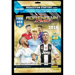 PROM Panini Fifa 365 Adrenalyn XL 2019 Megazestaw startowy album+6saszetek+3karty limitowane