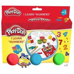 S.CENA Play Doh-zestaw uczę sie cyferek CPO025