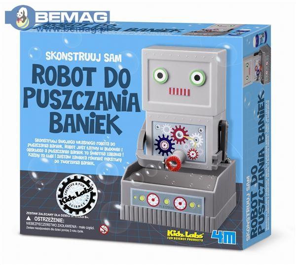-Robot puszczajacy banki 3288