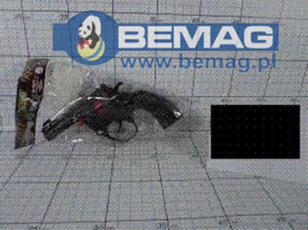 Pistolet 00-13852 KR