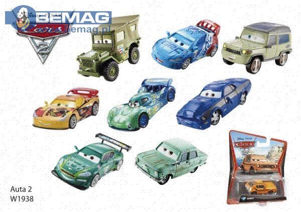 BRB CARS auta Cars2 W1938