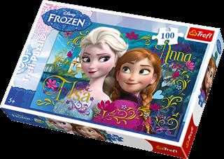 TREFL Puzzle 100el. Frozen