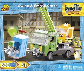 *Penguins /26230/ Swing and smash crane 230kl.