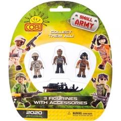 *Small Army /2020/ 3 figurki z akcesoriami