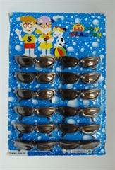 Okulary czarne 13cm 039-12 HIP