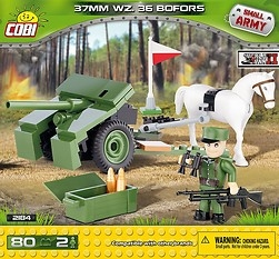 *SMALL ARMY /2184/ 37 MM WZ. 36 BOFORS