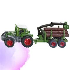 SIKU Traktor z Leśną Przyczepą 1645