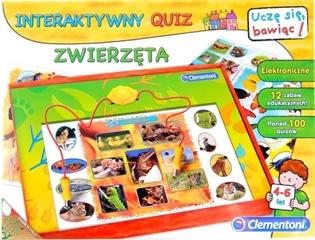 -CLE interaktywny quiz zwierzęta 60063