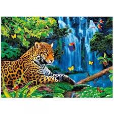 CLE puzzle 1000 Magic 3D Jaguar jungle 39284