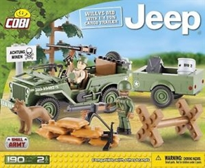*JEEP /24192/ WILLYS MB  amp;1/4 TON CARGO TRAILER