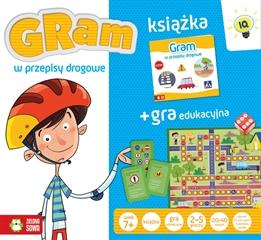Gra + książka. Gram w przepisy drogowe ZS