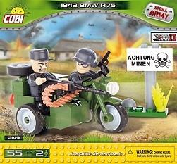 *SMALL ARMY /2149/ 1942 BMW R75 55 KL.