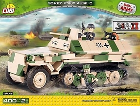 *SMALL ARMY /2472/ SD. KFZ.251 AUSF C 400 KL.