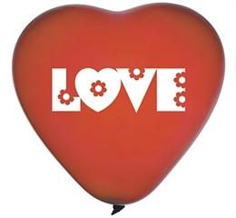 Balony Premium  quot;Love quot;, serca / 5szt. GoD